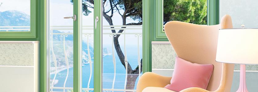 Кристальные окна для солнечной комнаты