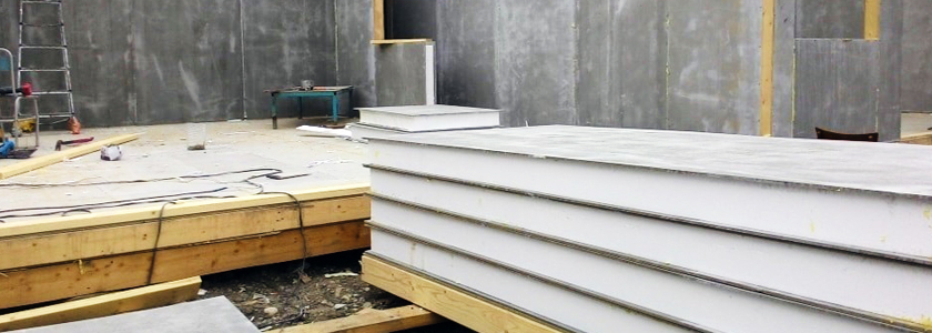 Цементно-стружечная плита – описание, опыт участников портала по применению на фасаде