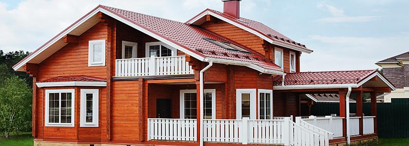 Как избежать ошибок при окрашивании деревянного дома