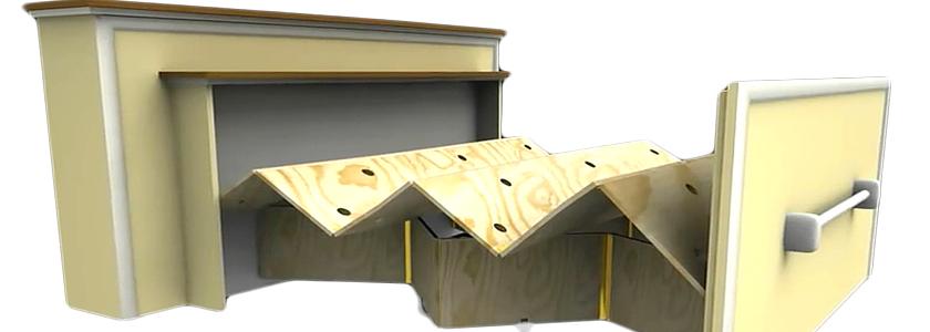 Раскладывающаяся выдвижная кровать: от идеи до воплощения