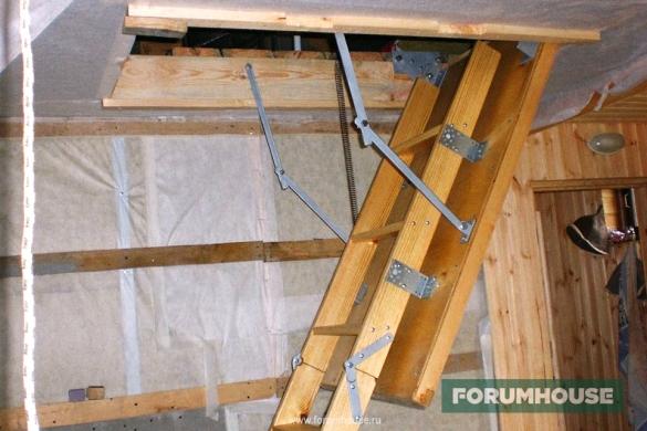 Как сделать складную лестницу фото 688