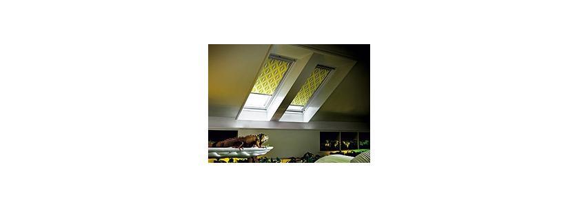 Коллекция штор для мансардных окон