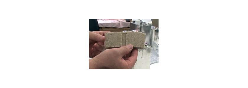 Новый кирпич прочнее бетона