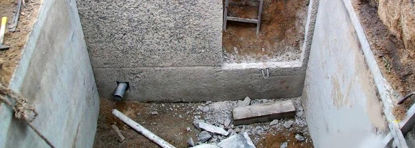 Погреб из железобетонных плит – опыт участника портала