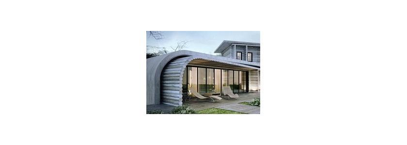Дом из сруба S-house: современная интерпретация традиционной технологии