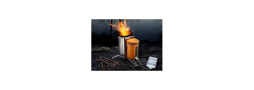 Новая дровяная печь: поесть, согреться и зарядить телефон