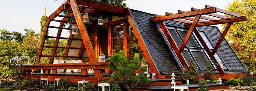 «Зеленые» дома или экотехнологии в строительстве