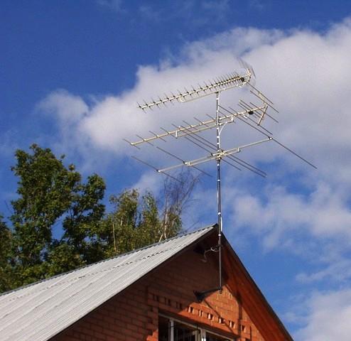 Подключить антенну в квартире в спб