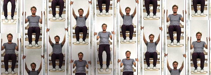 Лифт с мускульным приводом