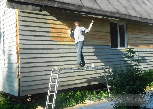 Чем обшить дом досками своими руками