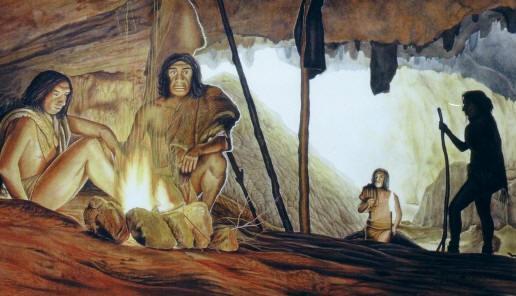 Как освещали жилище наши предки, когда еще не было. - Школьнику. com