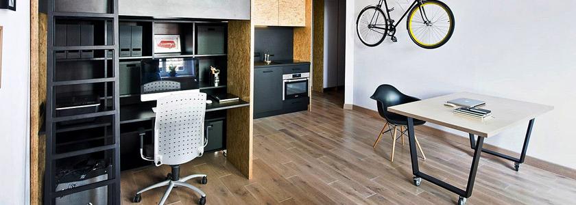 Универсальный модуль-трансформер: идея для малогабаритной квартиры