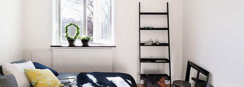 Лестницу-стремянку превращаем в мебель