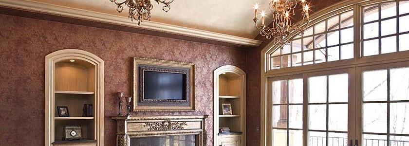 Телевизор как украшение интерьера
