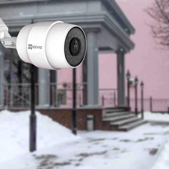 Камеры видеонаблюдения Ezviz – безопасность частного дома на профессиональном уровне