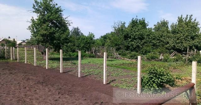 Бетонные столбы своими руками фото 949