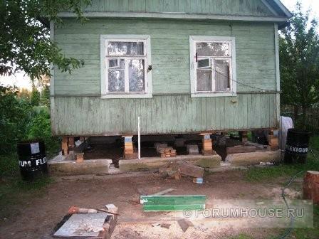Поднимаем старый дом своими руками 875