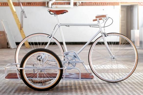 Боковые прицепы для велосипедов своими руками