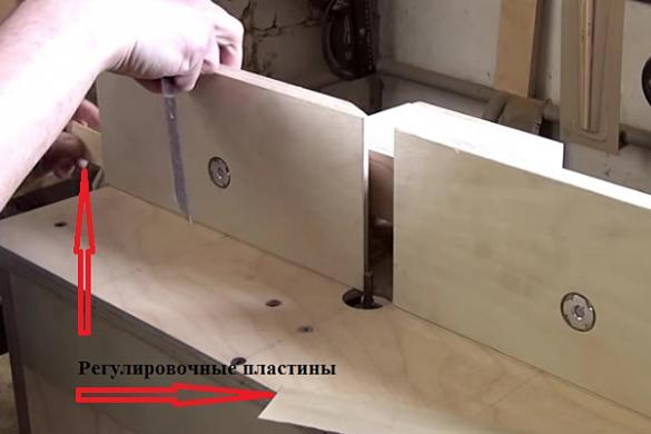 Фрезерный станок по дереву из ручного фрезера