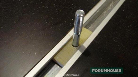 Упор для фрезерного столу