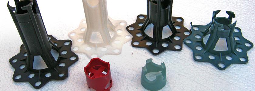 Фиксаторы арматуры – типовые изделия и вариации на тему