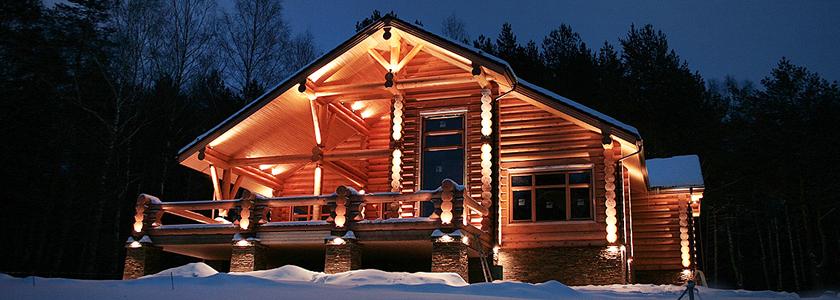 Электрика и освещение в загородном доме
