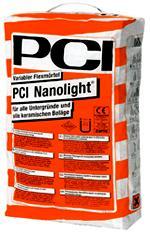 Плиточный клей - Нанолайт