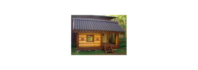Каркасный домик для собаки