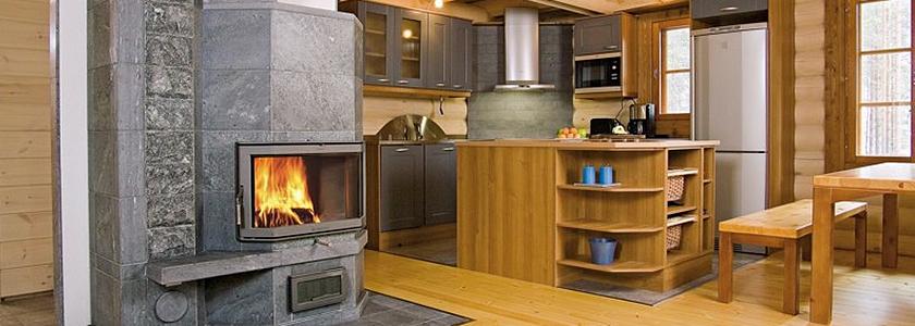 Твердотопливная печь: правила огнезащиты