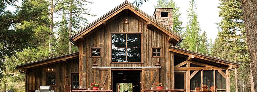Стильная резиденция из старого домика