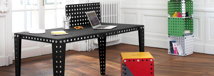 Мебель будущего из деталей конструктора