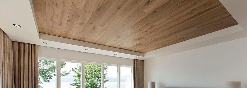 Потолок из ламината – личный опыт умельцев портала