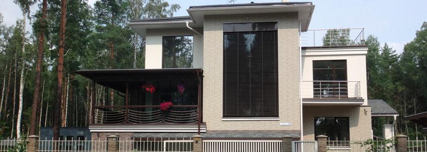Серия проектов домов в трех уровнях от архитектурного бюро «АЛЬФАПЛАН»