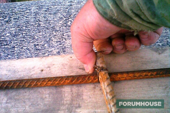 Как связать арматуру своими руками фото 550