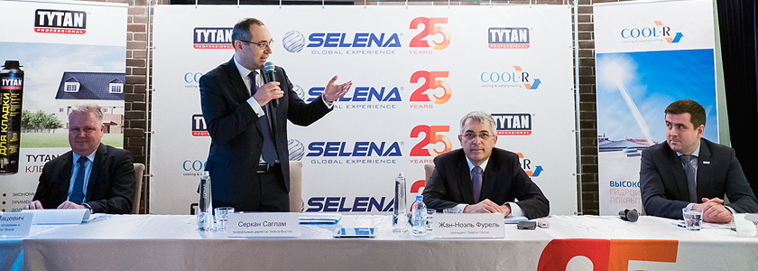 Selena Group представляет инновационные продукты для строительства в России