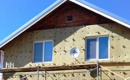 Как правильно утеплить деревянный дом: инструкция по монтажу каменной ваты и сайдинга