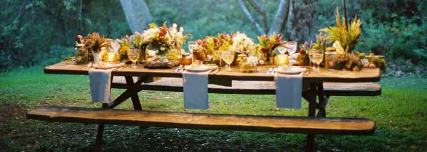Как оформить вечеринку в саду