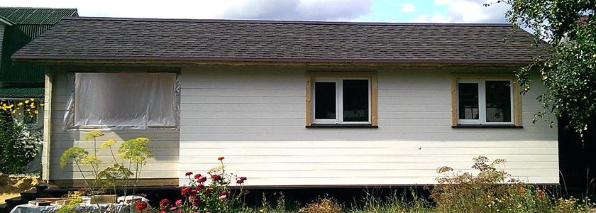 Дом для сезонного проживания – опыт участника портала