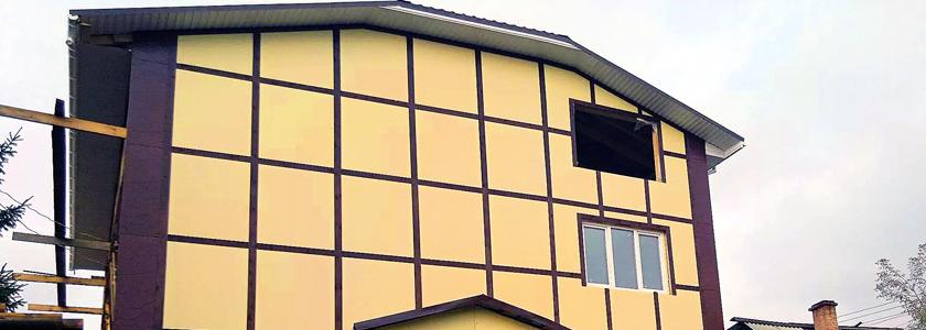 Фасады из плоского шифера – о материале, плюсы и минусы технологии, опыт умельцев портала