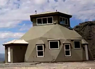 Быстровозводимый дом – оригинальный купол за несколько дней