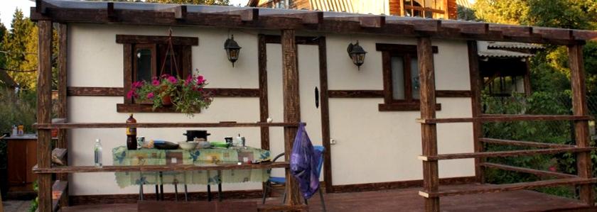 Как из старой бытовки сделать стильный мини-дом. Своими руками