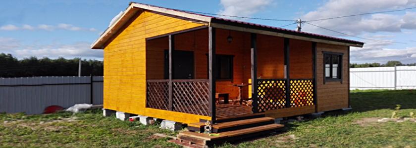Дачный домик 6×6: своими руками, с минимальным бюджетом