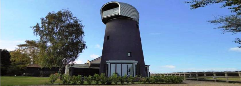 Стильный коттедж из ветряной мельницы: зарубежный строительный опыт