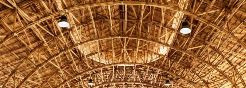 Зелёная сталь - фермы из бамбука