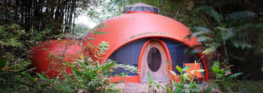 Купольный дом из пенобетона: зарубежный строительный опыт