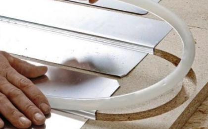 Особенности системы теплого пола с использованием металлических теплораспределительных пластин
