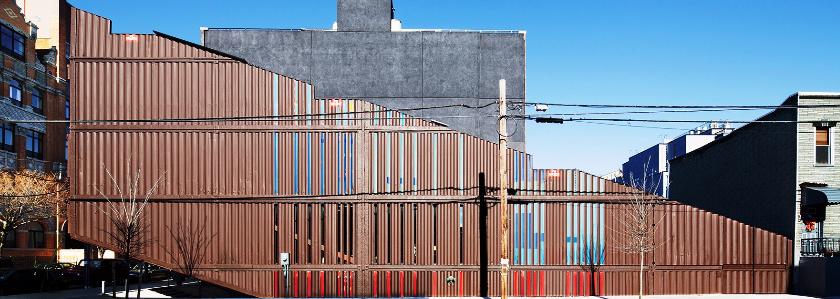 Многоэтажка из морских контейнеров: архитектурный подход