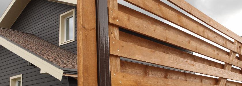 Забор – выбор и монтаж