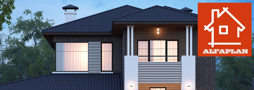 Нужен ли тамбур на входе в загородный дом: архитектурное бюро «АЛЬФАПЛАН» предлагает решение