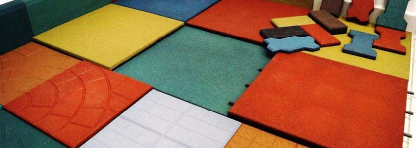Резиновая плитка – универсальное покрытие для разных зон